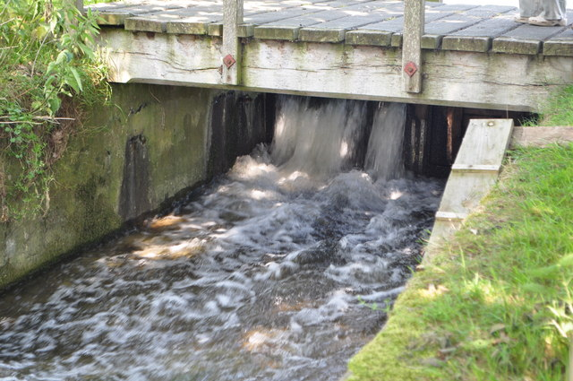 Sluice Open