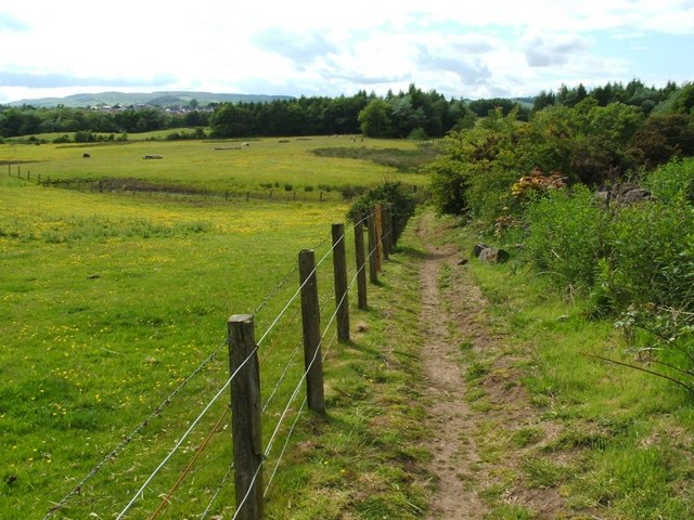 Footpath to Herbertshire Playing Fields