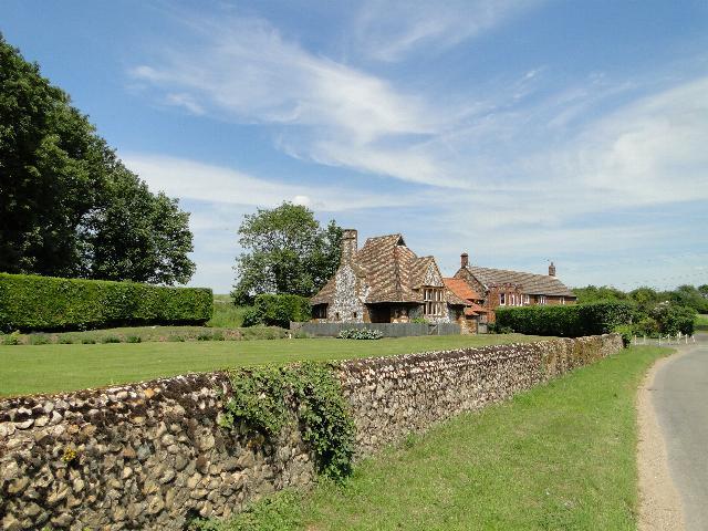 Chalet bungalow at Shernborne, Norfolk
