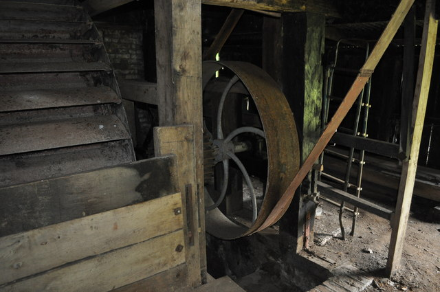 Water Wheel and Pulley