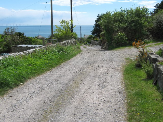 The track to Port O' Warren Bay