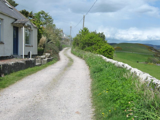 The track between Port O' Warren and Portling
