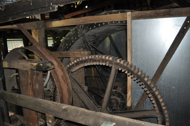 Wheel Mill Water Wheel at Gunton Saw Mill