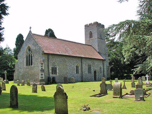 St Andrew's church in Congham