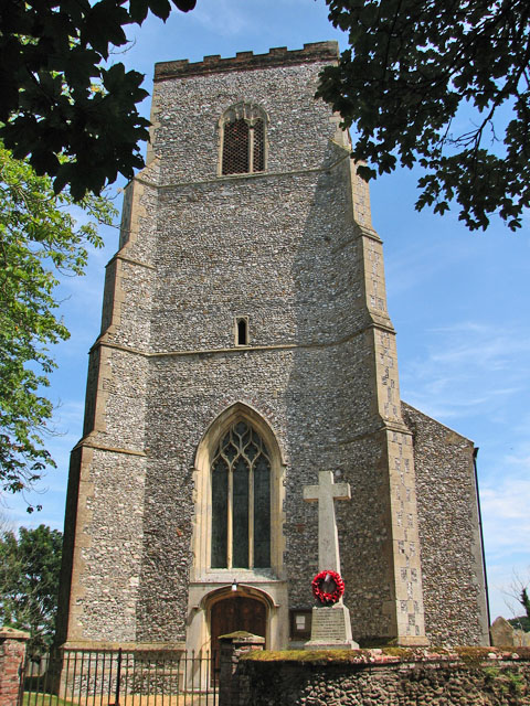 The war memorial in Hillington