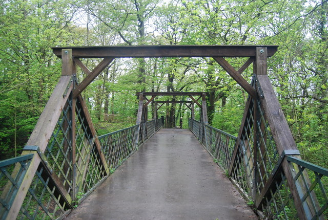 Footbridge, Sydenham Hill Woods