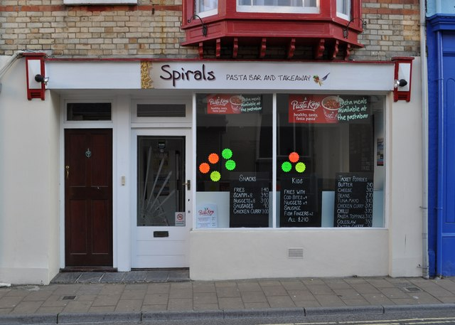 Spirals, 28 St. James's Place, Ilfracombe