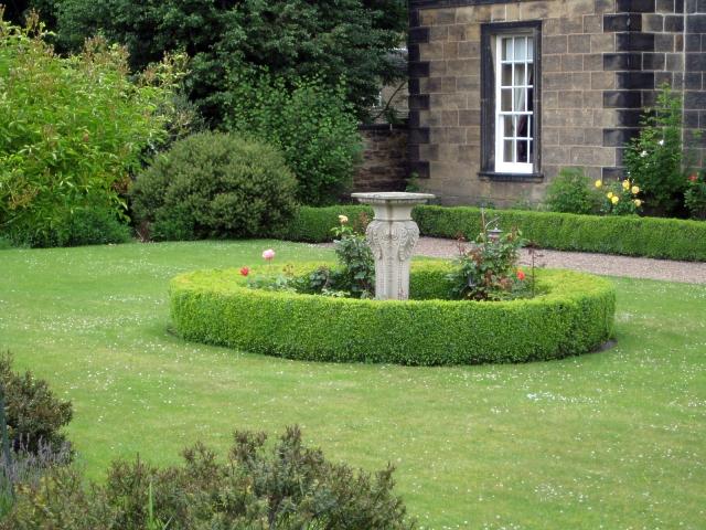 Heath conservation village - Dower House sundial