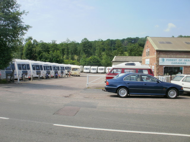 Caravan yard, Parkend