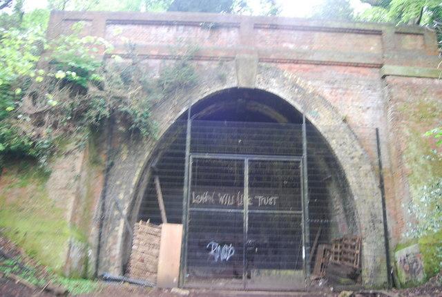 Crescent Wood Tunnel Entrance, Sydenham Hill Wood