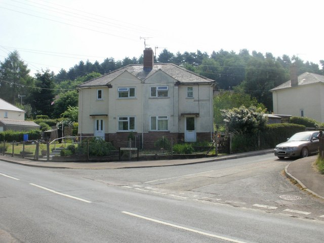 Corner of Fancy Road and Woodland Road, Parkend