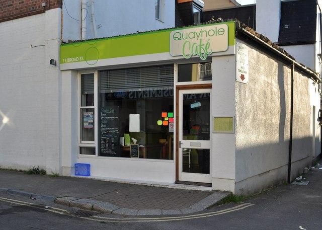 Quayhole Café, 17 Broad Street, Ilfracombe
