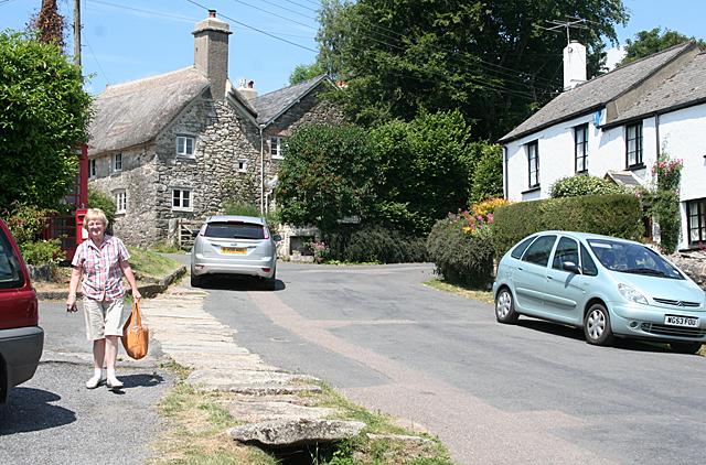 Holne: near the Church House Inn