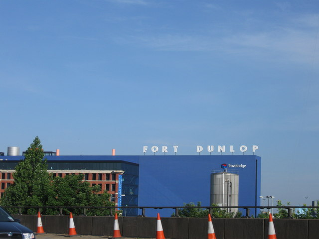 Fort Dunlop from the M6
