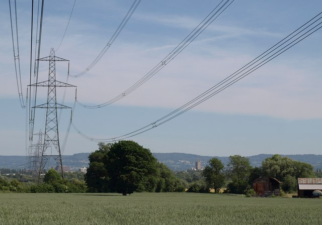 Power line to Gloucester