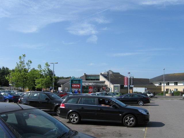 Stafford services M6 Northbound