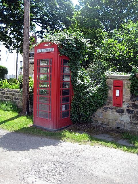 Heath conservation village - K6 Telephone Kiosk