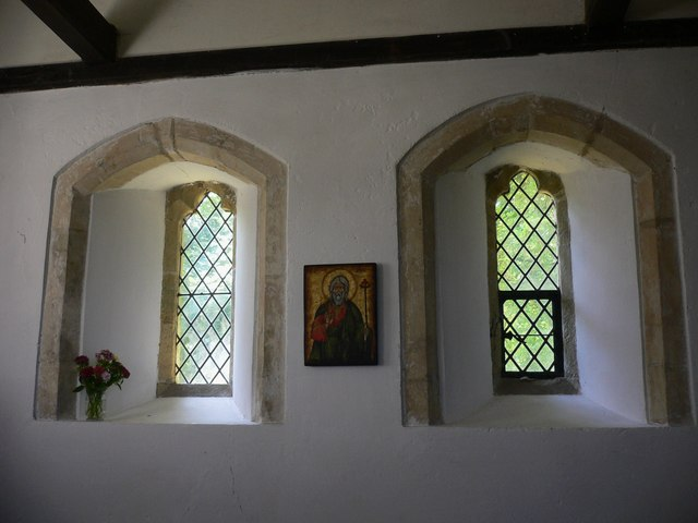 Windows in the Shepherds' Church at Didling