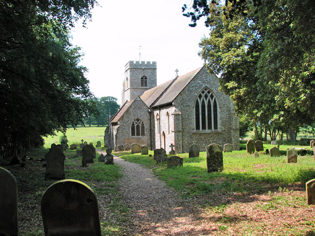 St Mary's church in Anmer