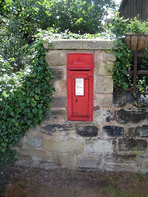 Heath conservation village -postbox