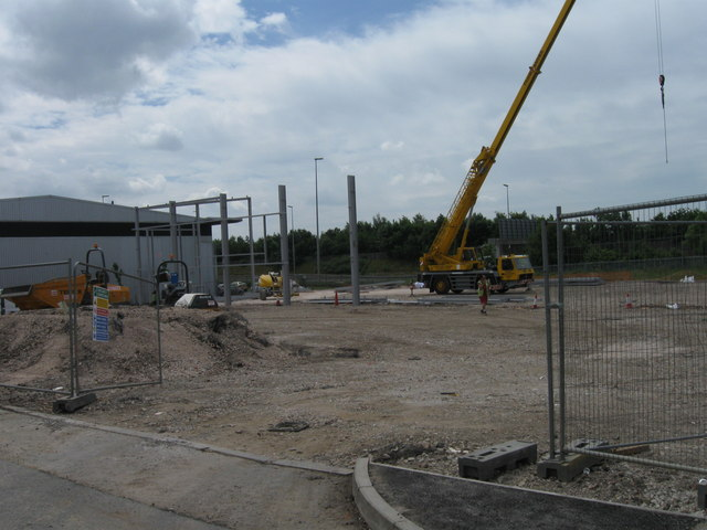 Steels for Industrial unit, Tustin Way