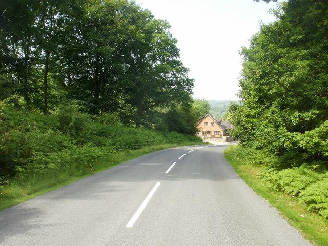 Fancy Road approaches Parkend