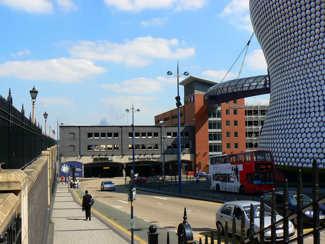 View from Moor Street Station, Birmingham