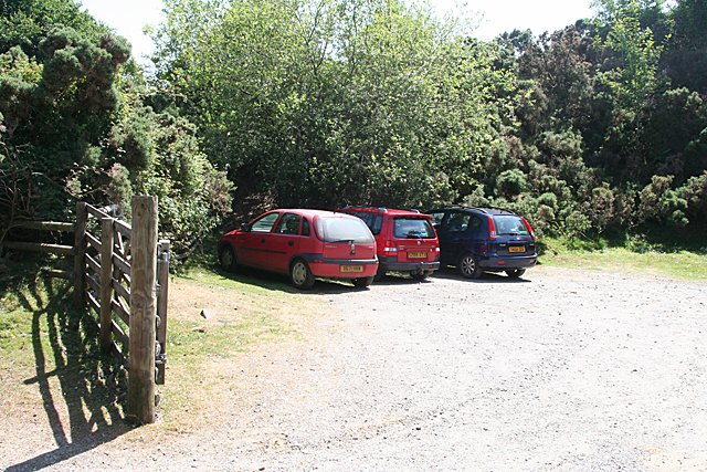 Holne: old quarry car park