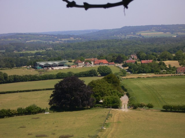 View of Didling from Didling Hill