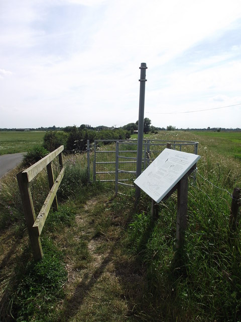 Stile Footpath And Information Board
