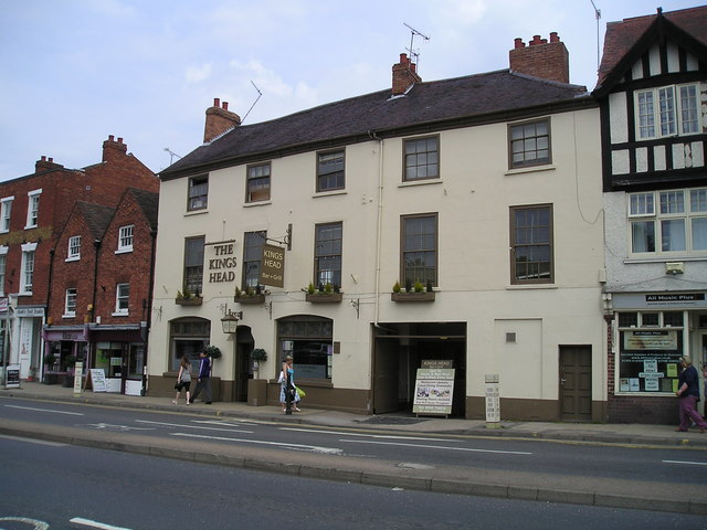 The Kings Head Pub, Worcester