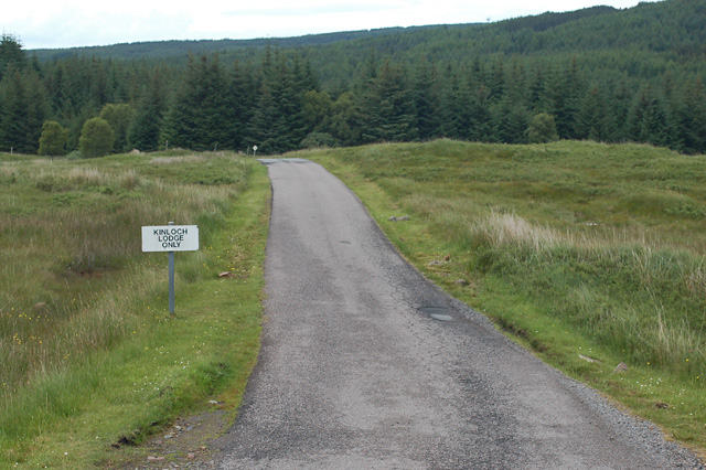 Drive to Kinloch Lodge