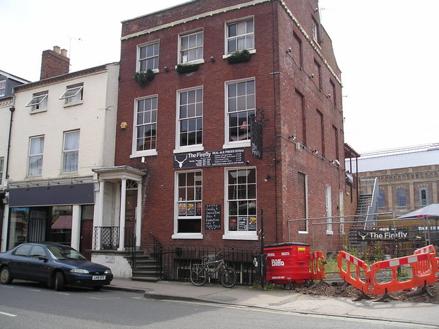 The Firefly Pub, Lowesmoor, Worcester
