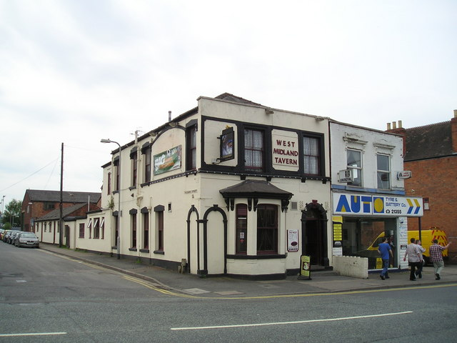 The West Midland Tavern Pub, Lowesmoor, Worcester