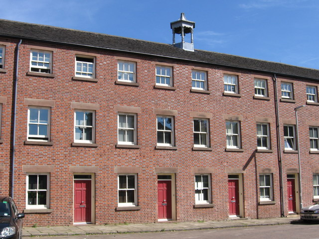 Leek - mill on Albion Street