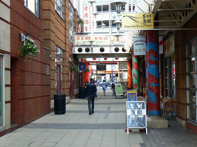 Arcadian Shopping Centre, Hurst Street, Birmingham
