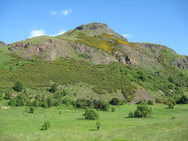 Arthurs Seat on a June afternoon