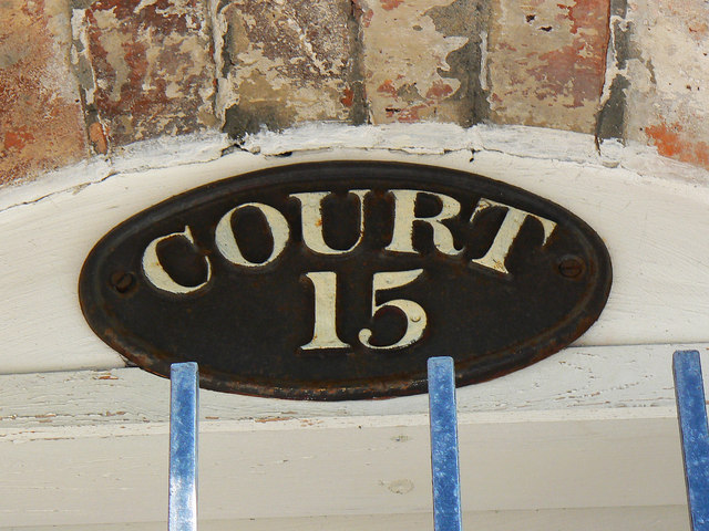 Sign, Court 15, Inge Street, Birmingham