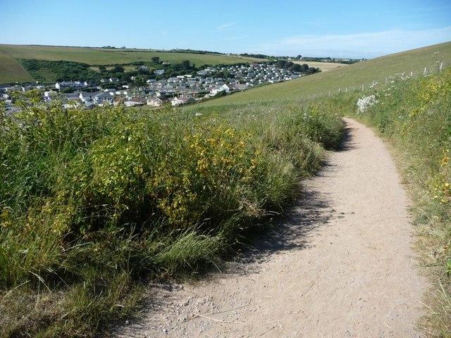 The path to Challaborough