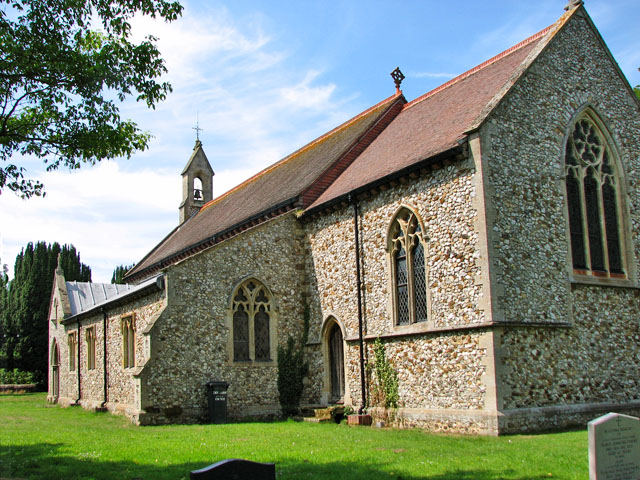 The church of SS Peter and Paul in Shernborne