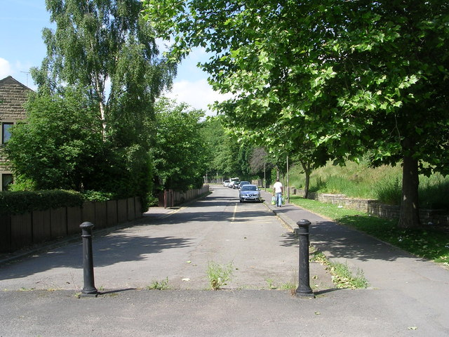 Victoria Road - viewed from Chapel Hill