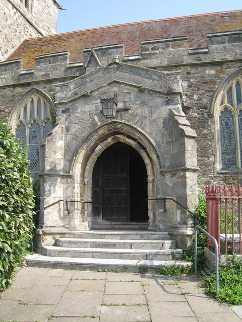 Entrance to St Clement's Church