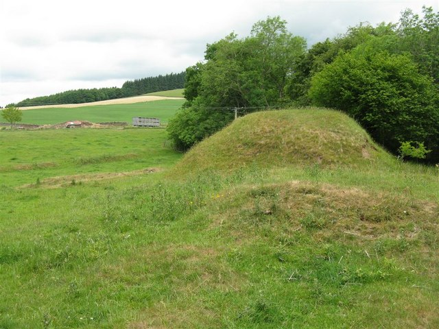 The Motte at Leithenhall