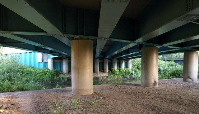 Beneath Llanthony Bridge