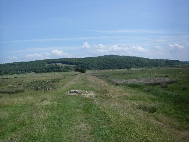 Part of the Lancashire Coastal Way