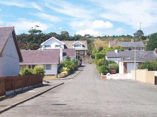Bungalows and houses on Yr Ala Estate, Pwllheli