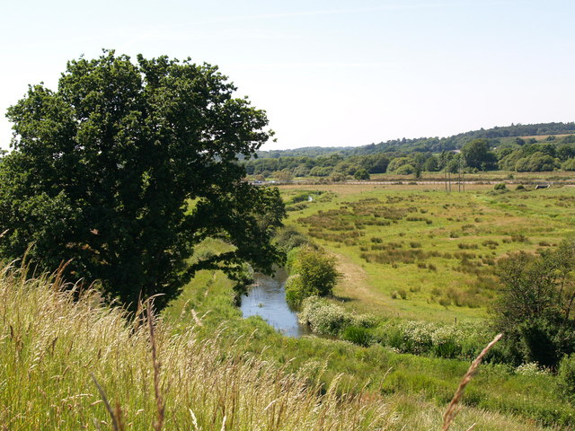The River Piddle (or Trent) Flood Plain