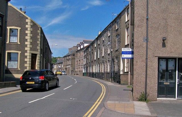 Lon Dywod aka New Street, Pwllheli
