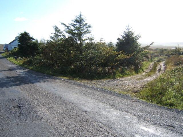 Track north of Arivoichallum