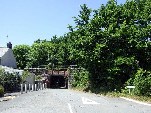 Jackson's Lane railway bridge